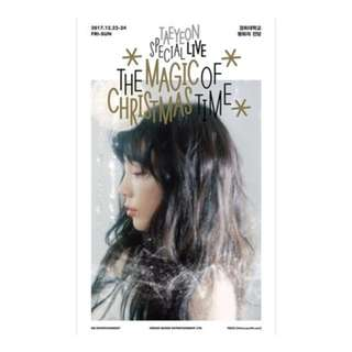 [PRE-ORDER] : TAEYEON - THE MAGIC OF CHRISTMAS TIME