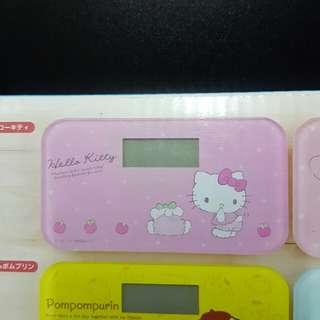 全新 Sanrio hello kitty 吉蒂貓 電子磅