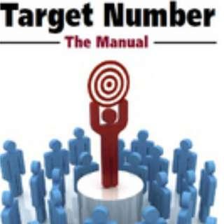 Target Number - Ted Karmilovich (Mentalism PDF)