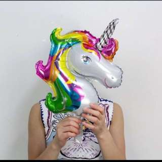 Mini unicorn balloon