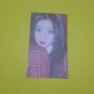 [wtt]Seungyeon CLC Black Dress Postcard