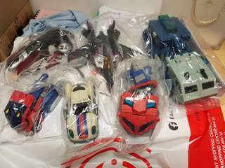 Transformers Animated Deluxe Voyager Ultra Bundle