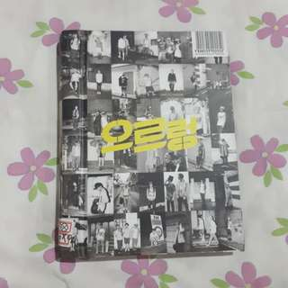 EXO 1st Repackage Album Growl