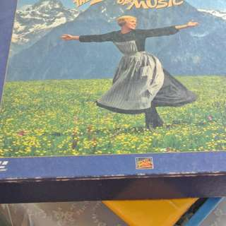 MY LASER DISC - LD - THE SOUND OF MUSIC  (BOXED SET) //INCLUDES FREE DELIVERY)
