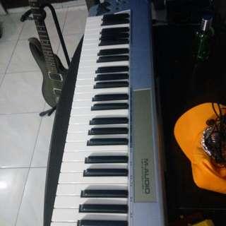 M Audio Keystation 49e midi keyboard