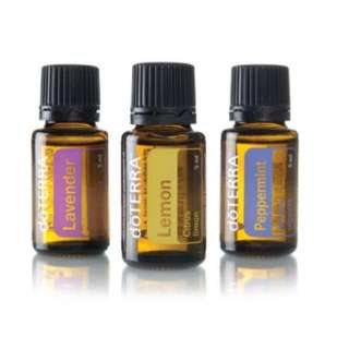 Doterra essential oil (lavender, lemon, peppermint) 15ml each