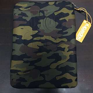 Superdry Black Camo Laptop Sleeve