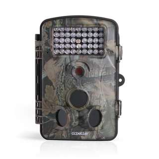 High Quality Wildlife Hunting Camera - 12 MP 1080P Animal Surveilance Trail Camera | Best HD Game - Trail Camera with 120 Degree Wide Angle - Infrared Night Vision