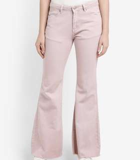 XL Dyed Cropped Wide Leg Jeans