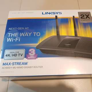 Linksys Max-Stream AC1900 Router