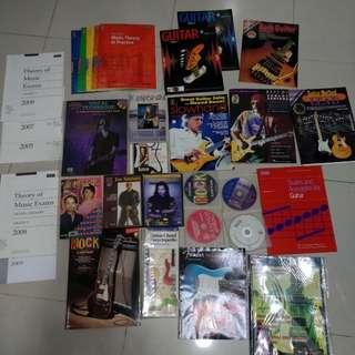 電吉他教學書 電吉他譜 樂理書 CD VCD