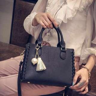 Black Handbag/Sling Bag for Women Woman Hand Bag