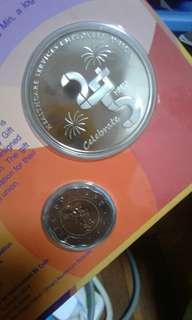 Coins collection $5 coin