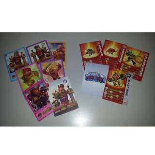 Clash of Clans & Skylanders Cards