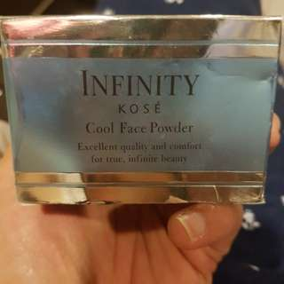 Infinity kose cool face powder