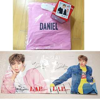 [Ready Stock] LAP X Wanna One Daniel (Eco Bag / Tote Bag)