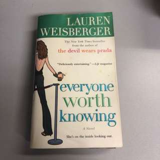 Laura Weisberger's Everyone worth knowing