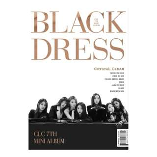 [PRE-ORDER] : CLC - BLACK DRESS (7TH MINI ALBUM)