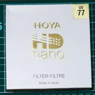 Hoya 77mm HD Nano UV Filter