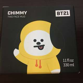 bt21 chimmy two face mug (現貨)