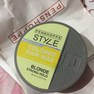 Penshoppe Style Colored Hair Wax