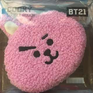 bt21 cooky boucle pouch (現貨)