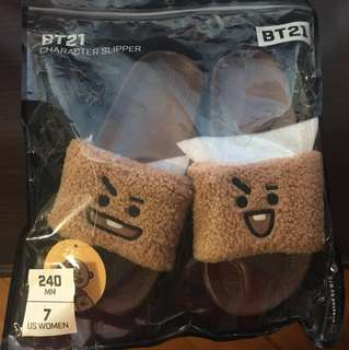 bt21 shooky slipper(現貨)