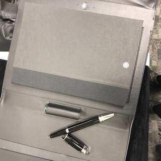 Mont Blanc augmented notepad pen set