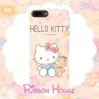 Hello Kitty 手機殼 - 花朵篇
