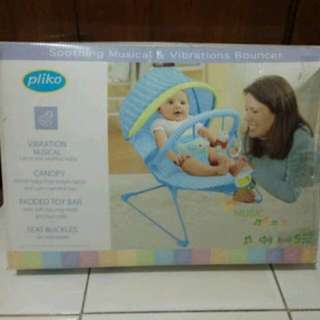 Pliko Bouncer soothing musical & Vibrations