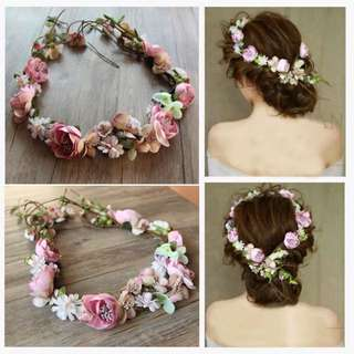 Bride Head Accessories/Headband/Flower Garland