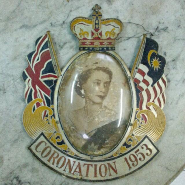 1953 Coronation Queen Elizabeth Ii Vintage Antiques Vintage