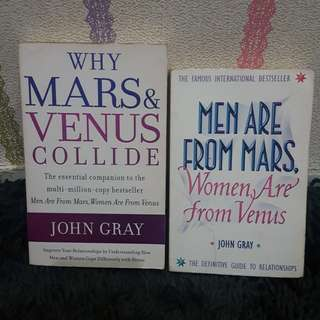 Mars & Venus Books for sale!