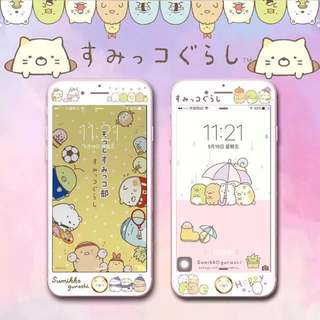 [SUMIKKO GURASHI] [iPhone] Tempered Glass Screen Protector