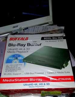 Buffalo外置或藍光盤