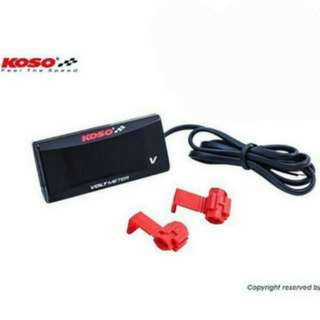 Waterproof Koso Super Slim Voltmeter