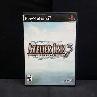 PS2 Atelier Iris 3: Grand Phantasm (Used Game)