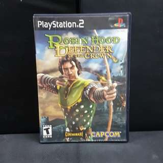 PS2 Robin Hood: Defender of the Crown (Used Game)