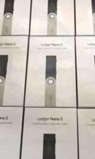 Nano Ledger S brand new instocks Cheapest