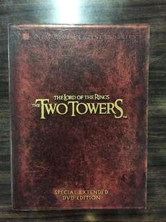 DVD: The Lord of the Rings: The Two Towers (New Line Platinum Series - Special Extended DVD Edition