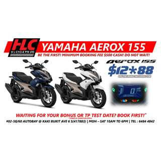 NEW Yamaha Aerox 155 2018