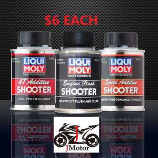 Liqui Moly 4T Bike Addictive speed addictive shooter motorcycle motor bike