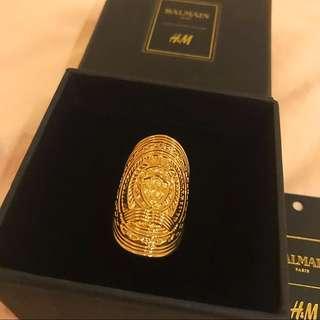 Balmain X H&M Ring