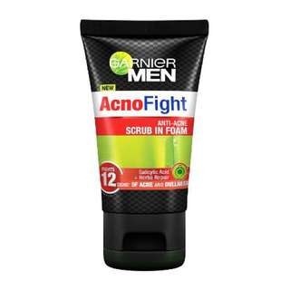 GARNIER MEN ACNO FIGHT 20ML - FREE NORMAL MAIL (expire Aug'18)