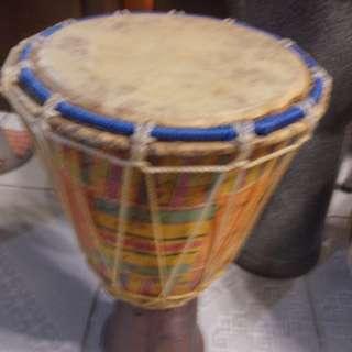 Vintage Djembe Drum