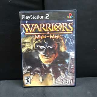 PS2 Warriors of Might and Magic (Used Game)