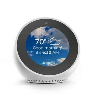 (Ready) Echo spot - Black/white