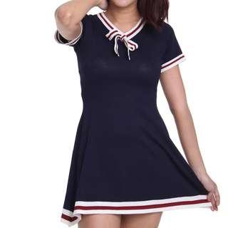 Navy Blue sporty dress