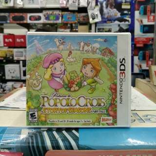 🆕 3DS Return to Popolo Crois A Story of Seasons Fairy Tale