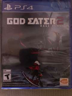 PS4 God Eater 2 (Brand New)